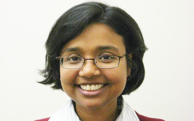 Photo headshot of Computer Science and Engineering professor Kamalika Chaudhuri.