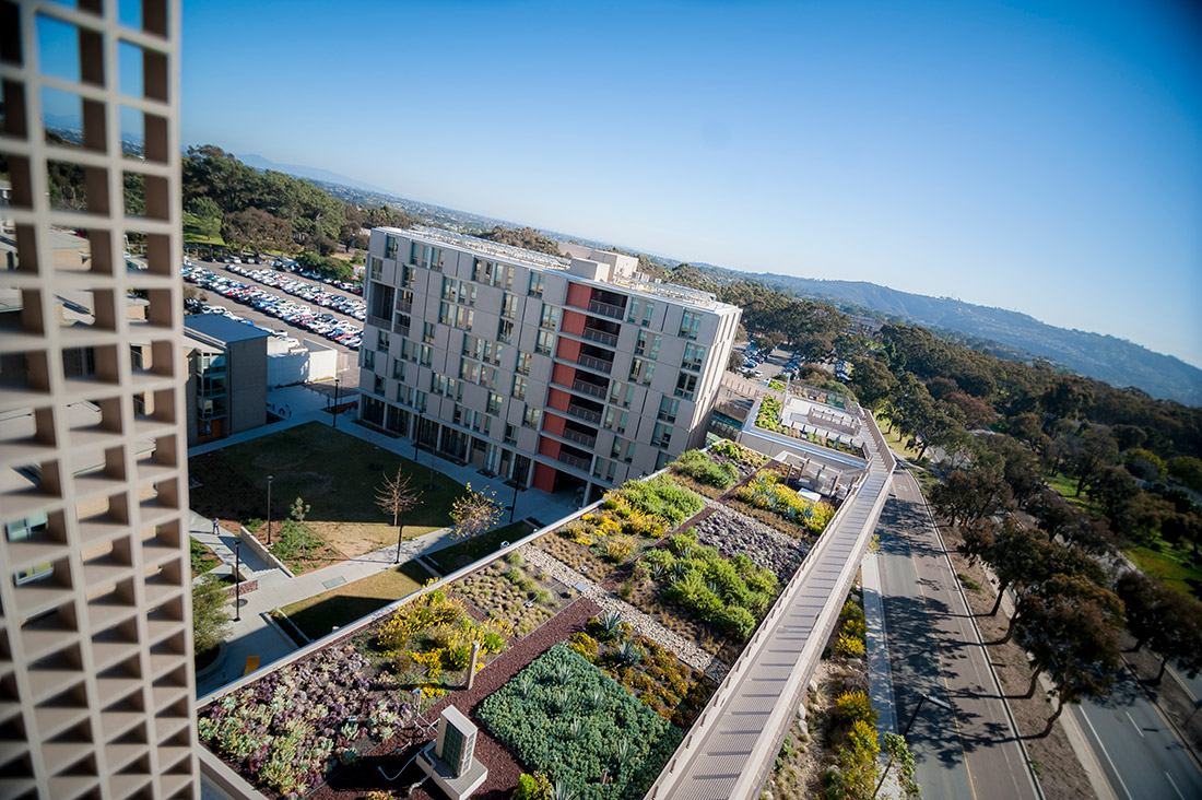 photo: New Green Building Tours at UC San Diego Keeling Apartments