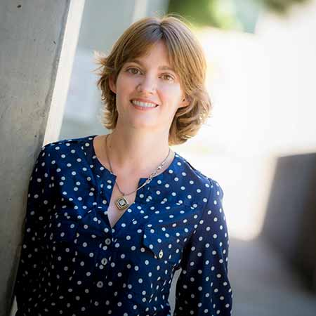 Image:Kimberly Cooper, an assistant professor of biology in the Division of Biological Sciences