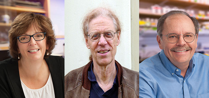 Susan Ackerman, Jeremy Jackson and Bill McGinnis, new NAS members.
