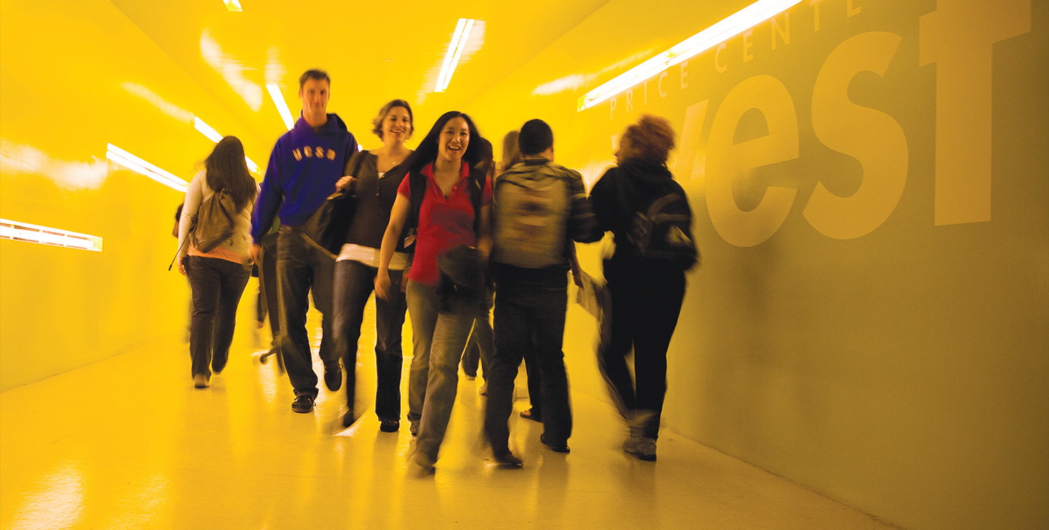 Image: Price Center East tunnel