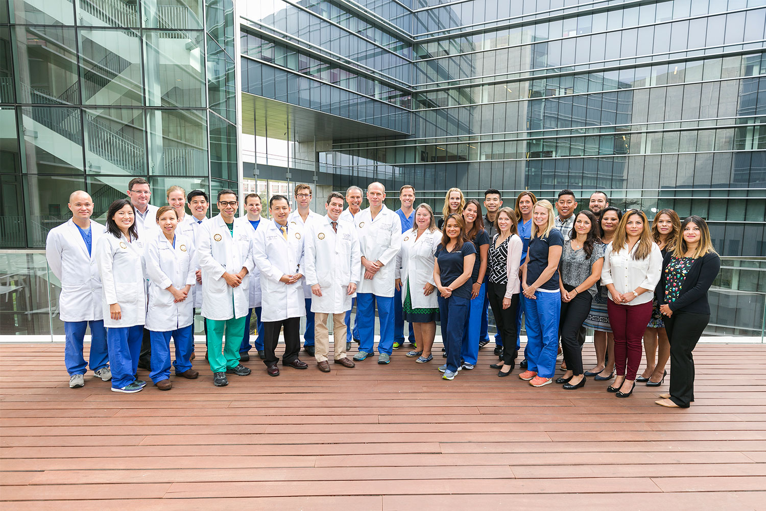 Sulpizio Cardiovascular Center Heart Transplant Team