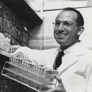 'The Legacy of Jonas Salk' Exhibit on Display at Geisel Library