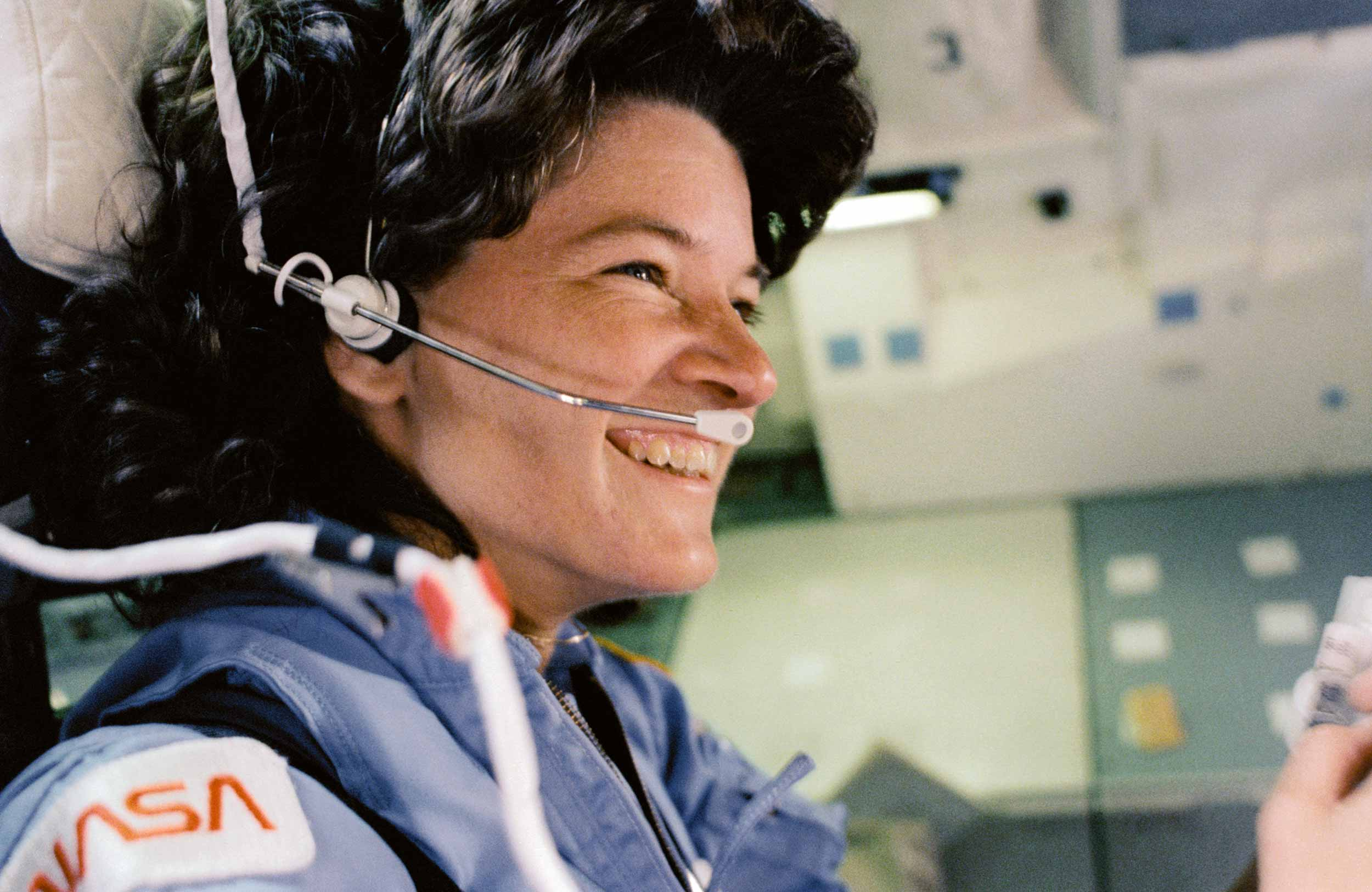 Sally Ride at NASA