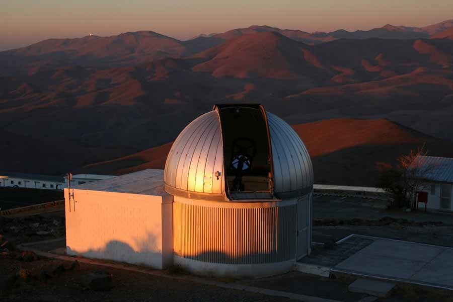 Image: The TRAPPIST telescope of the University of Liege