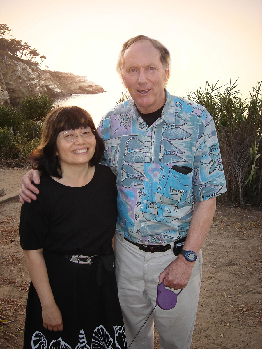 Ron Graham and his wife and main research partner, Fan Chung Graham