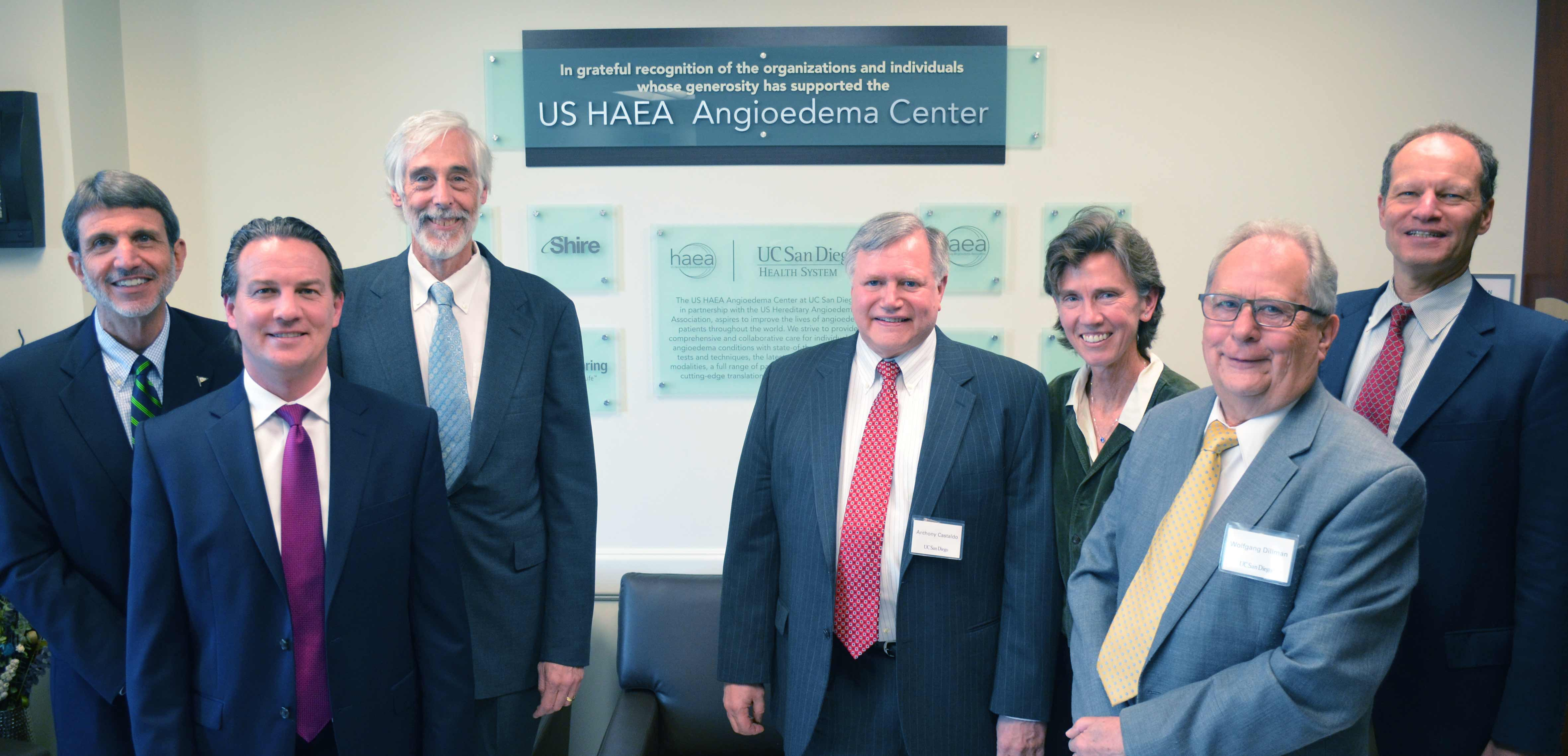Photo: US HAEA Hereditary Angioedema Center at UC San Diego