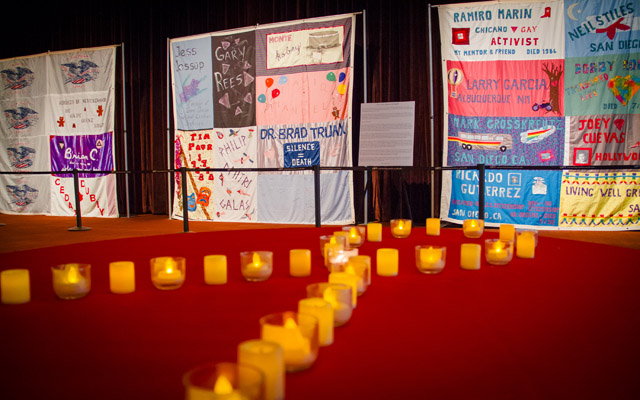 UC San Diego to Honor World AIDS Day Dec. 1 with Memorial Quilt ... : world aids day quilt - Adamdwight.com