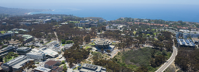 UC San Diego aerial photo.