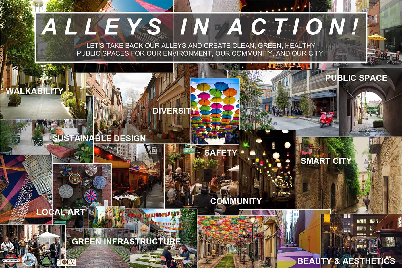 Alleys in Action Prjoect for neglected public space