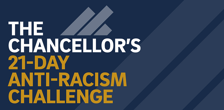 The Chancellors 21-Day Anti-racism challenge