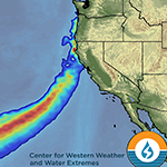California's Climate Future Suggests More Volatility and a Key Role for Atmospheric Rivers