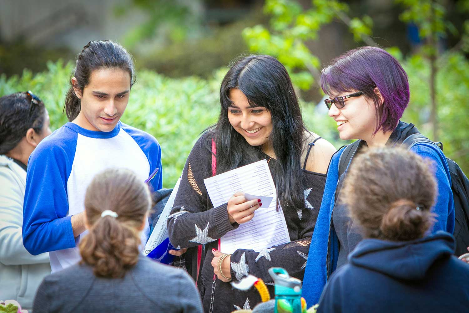 UC San Diego arts and humanities students