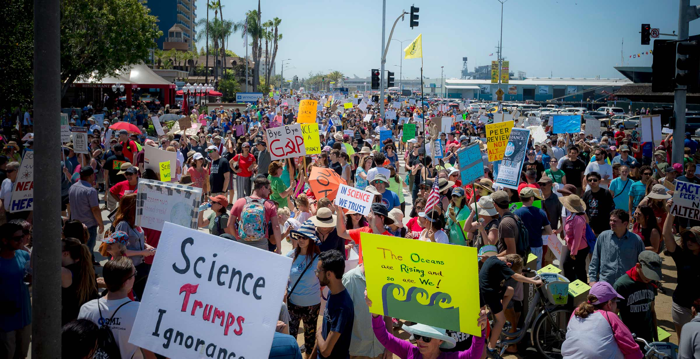 San Diego March for Science 2017