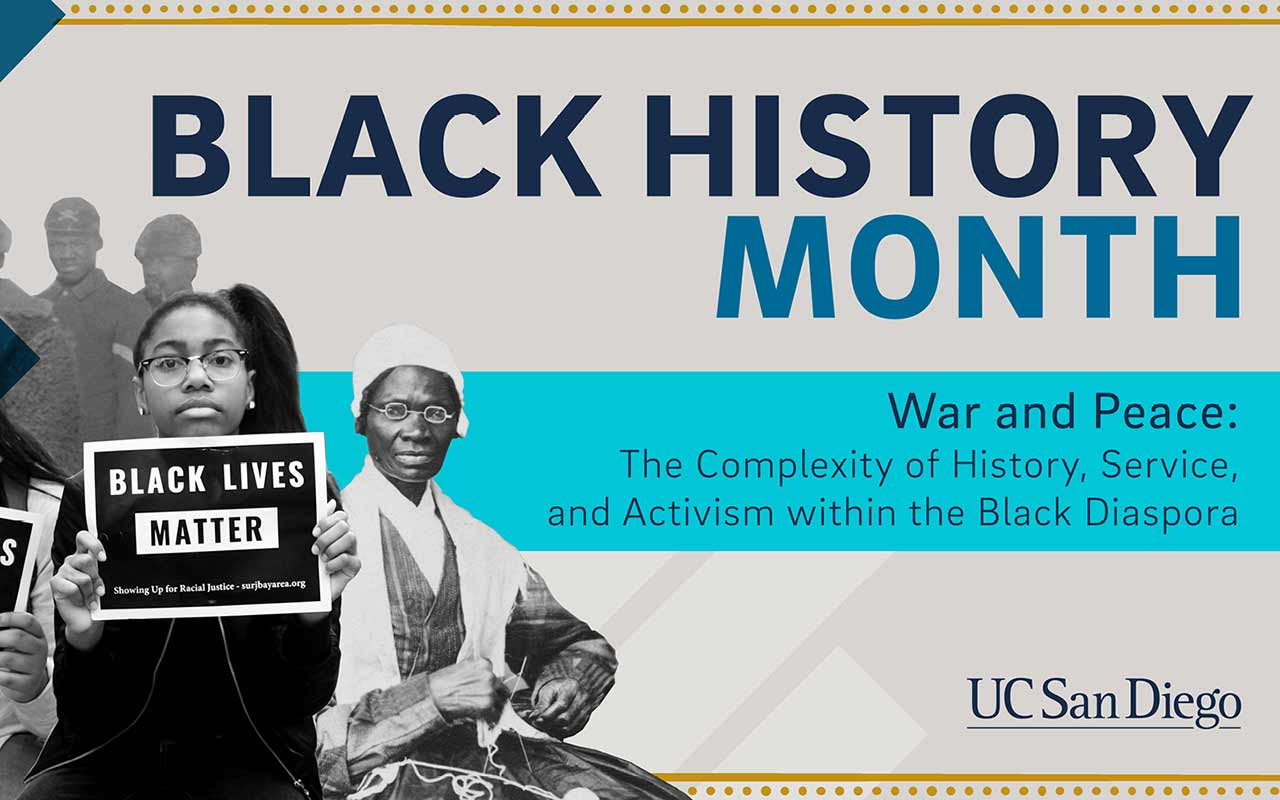 Service and Activism Theme of UC San Diego's 2018 Black History Month Celebration