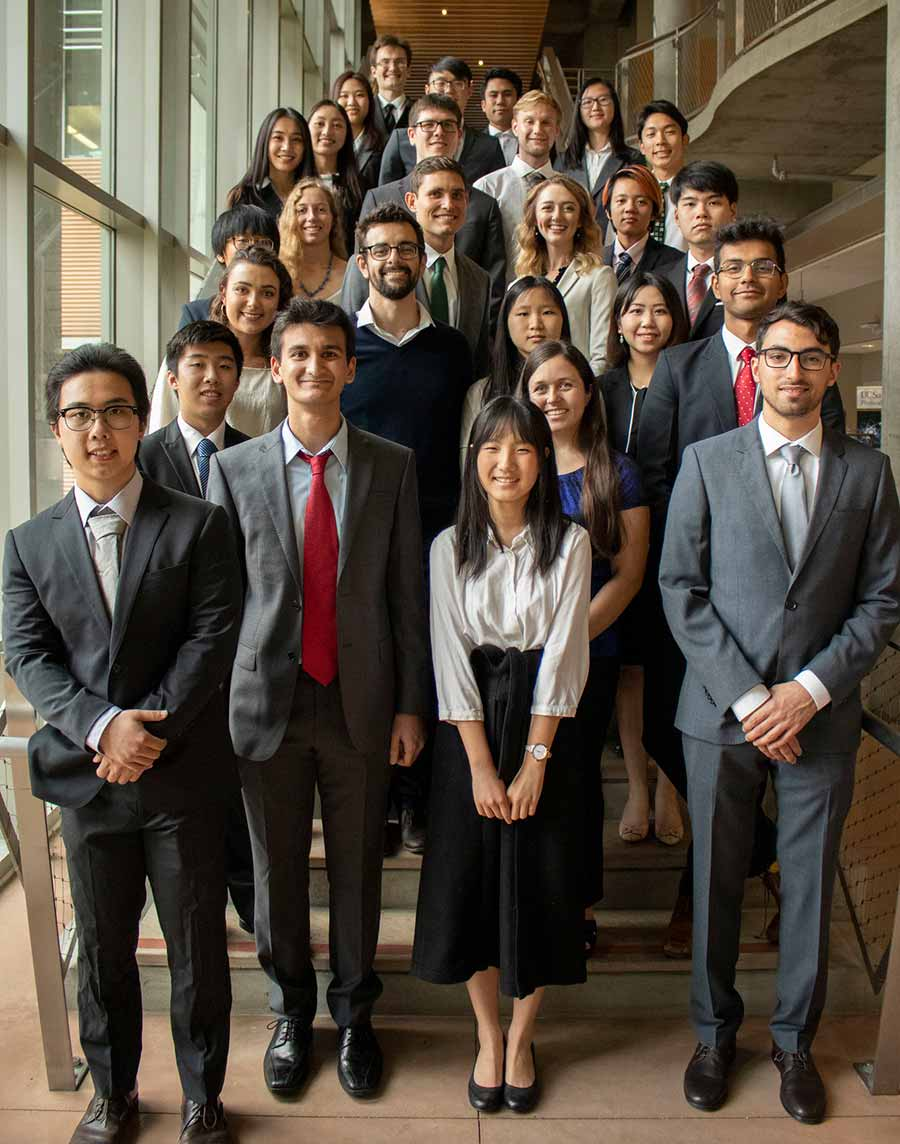 Recipients of the Division of Physical Sciences 2019 Dean's Undergraduate Awards.