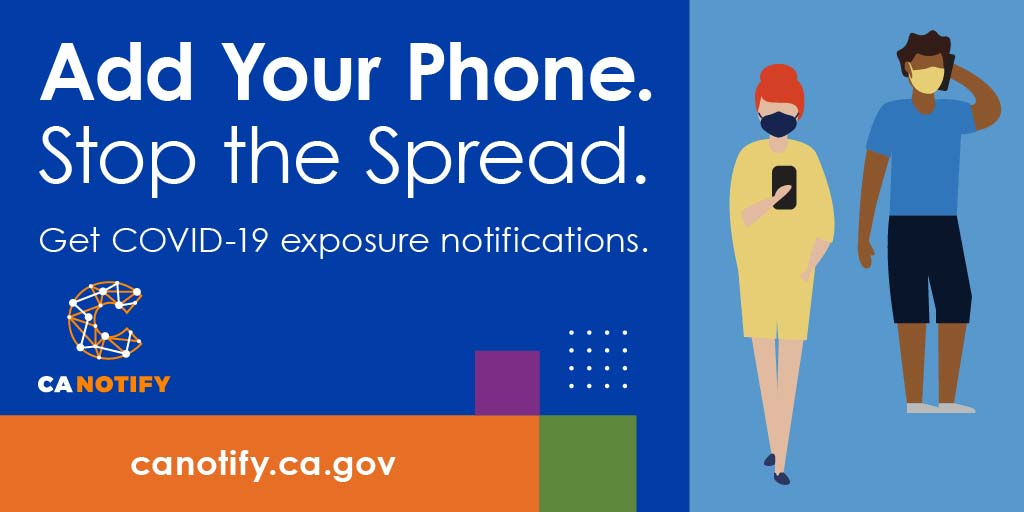 Add Your Phone. Stop the Spread. Get COVID-19 exposure notifications.
