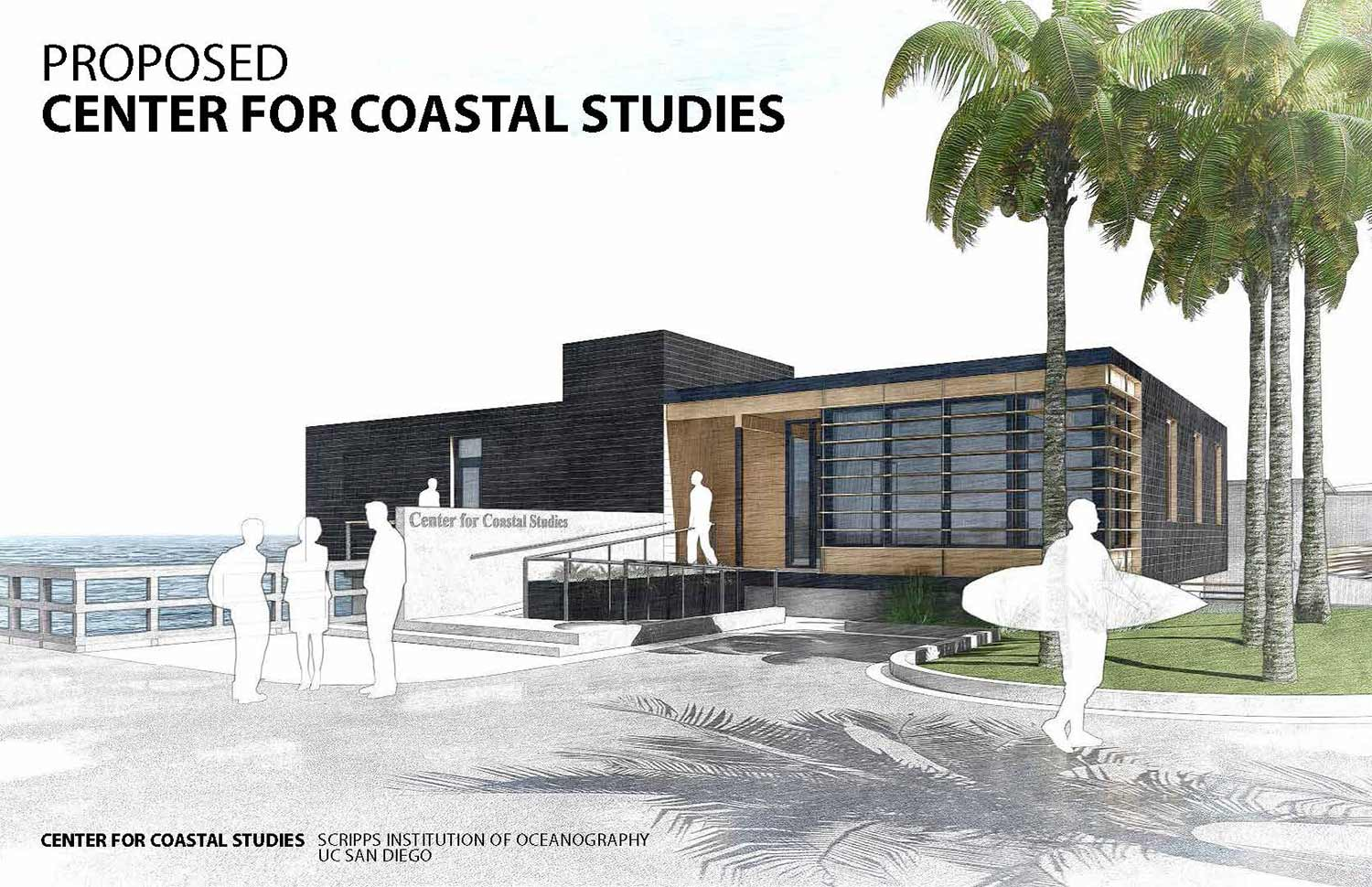 proposed center for coastal studies at UC San Diego
