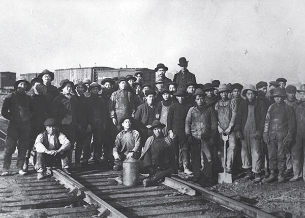 Image: Chinese work group for the Great Northern Railway