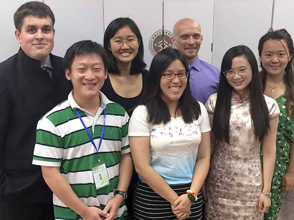Image: The UC San Diego student delegation in Shanghai