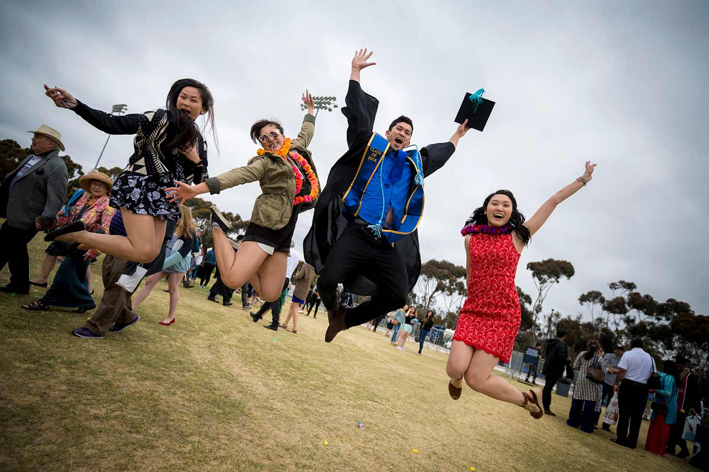 UC San Diego 2018 Commencement graduate students
