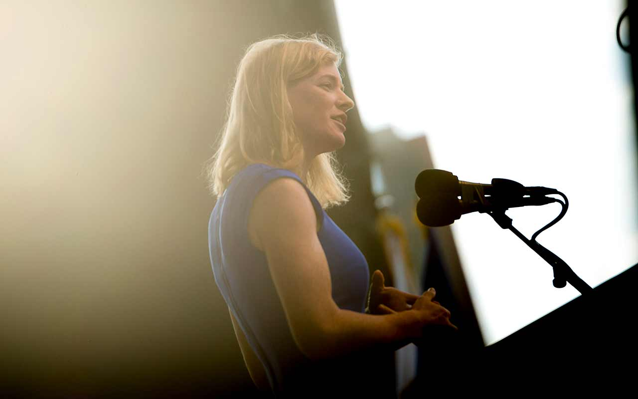 Convocation Keynote to Students: Mistakes are Stepping Stones on Path to Greatness