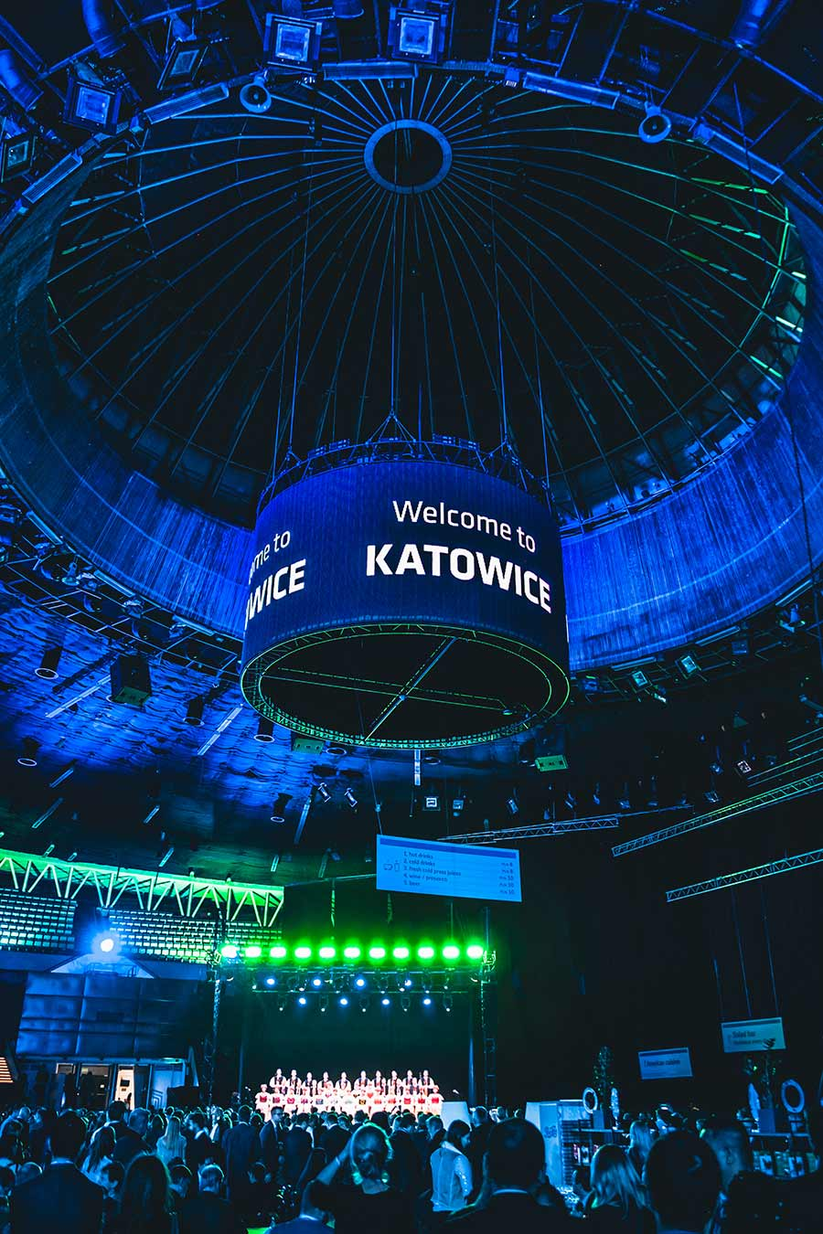 COP24 Climate Conference stage in Poland