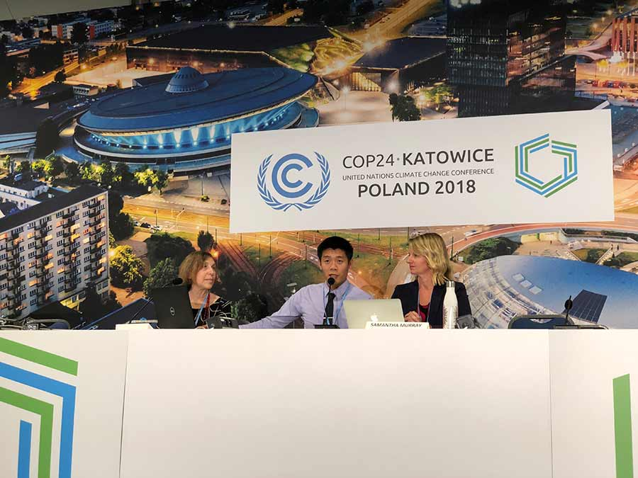 COP24 Climate Conference speakers in Poland