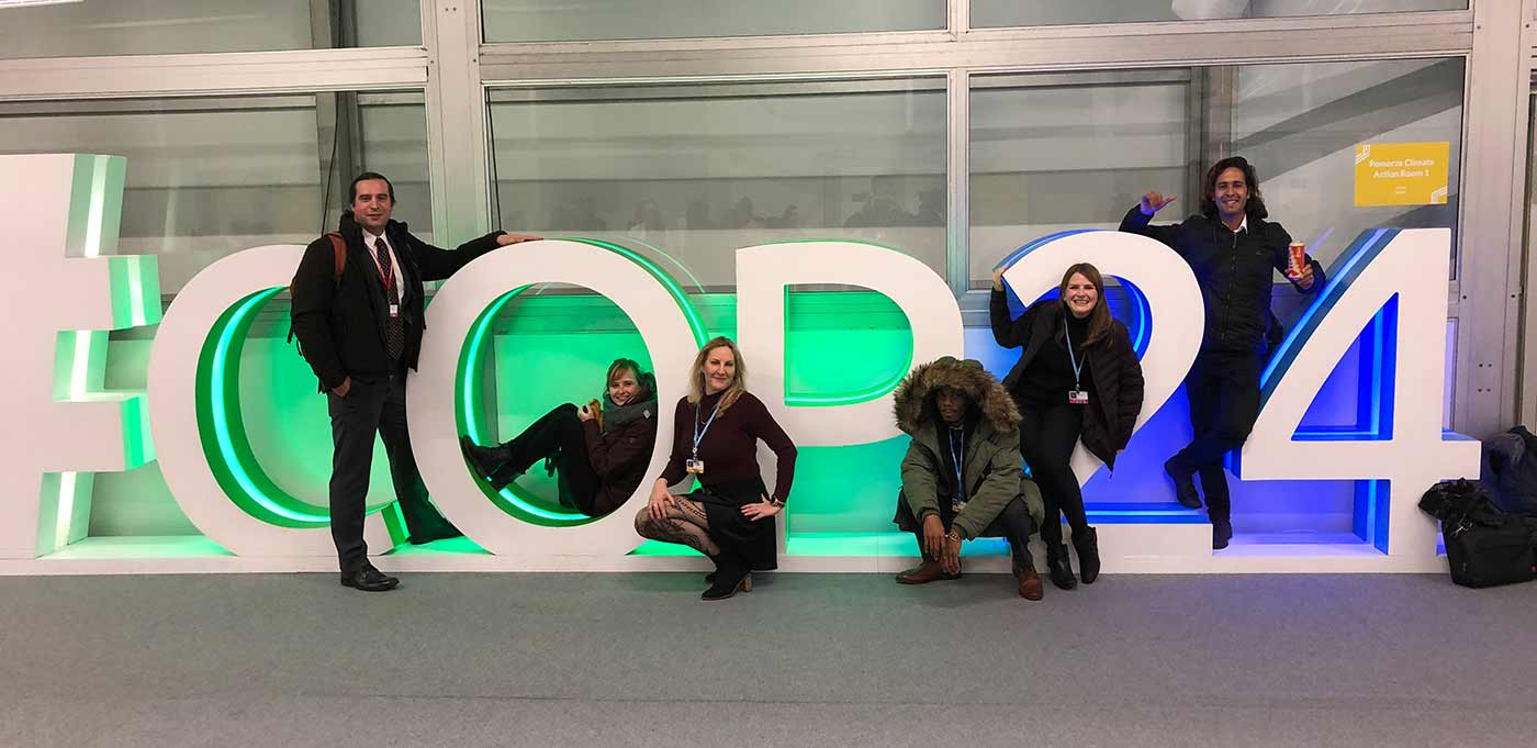 UC delegates at COP24 Climate Conference in Poland