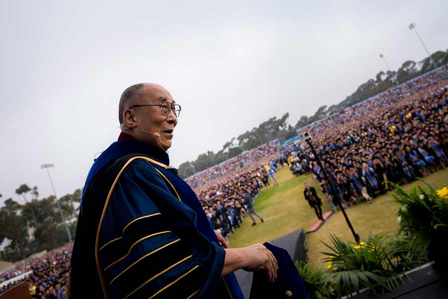 UC San Diego Commencement Keynote Address His Holiness the 14th Dalai Lama