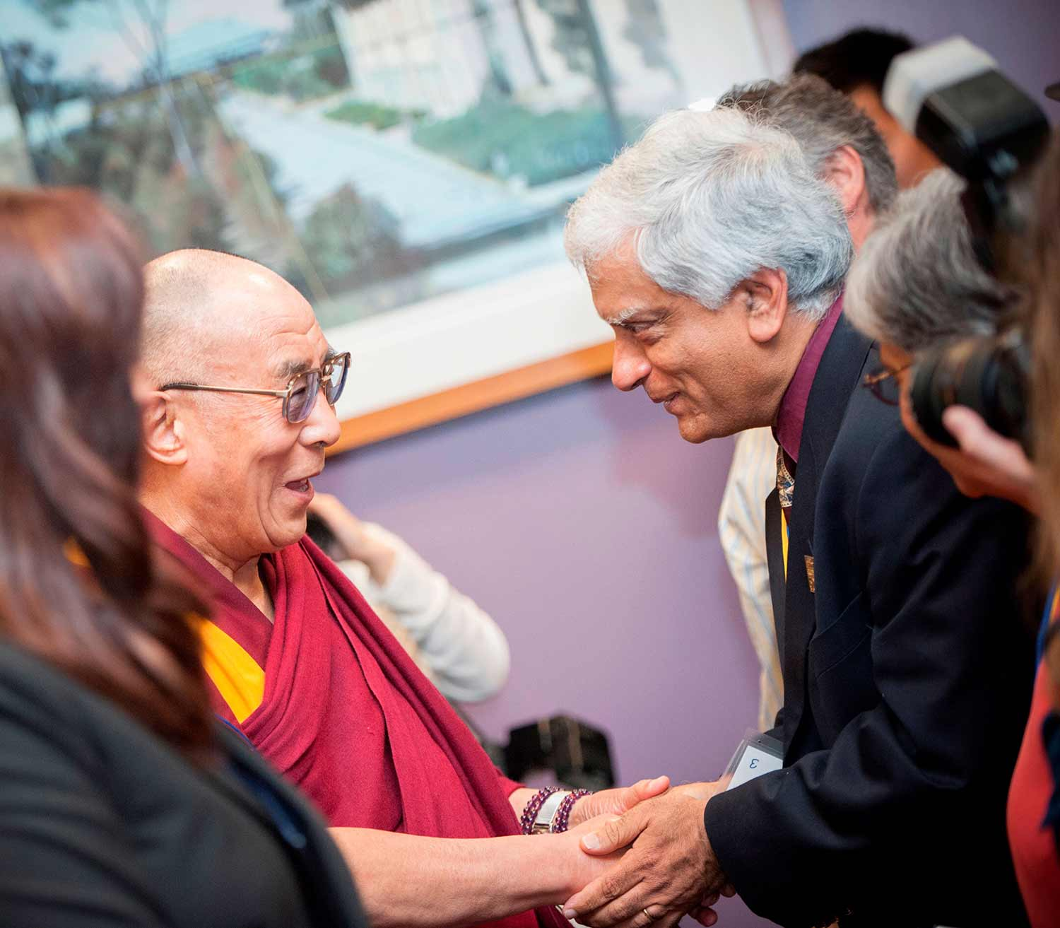 UC San Diego connections with Dalai Lama