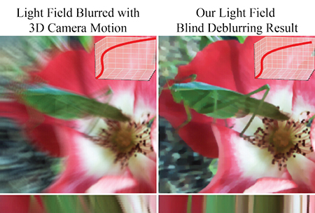 Deblurring technique