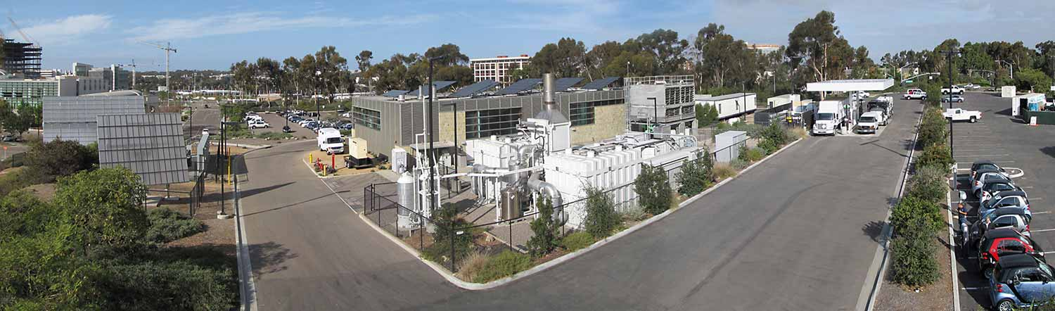 Photo: The UC San Diego microgrid