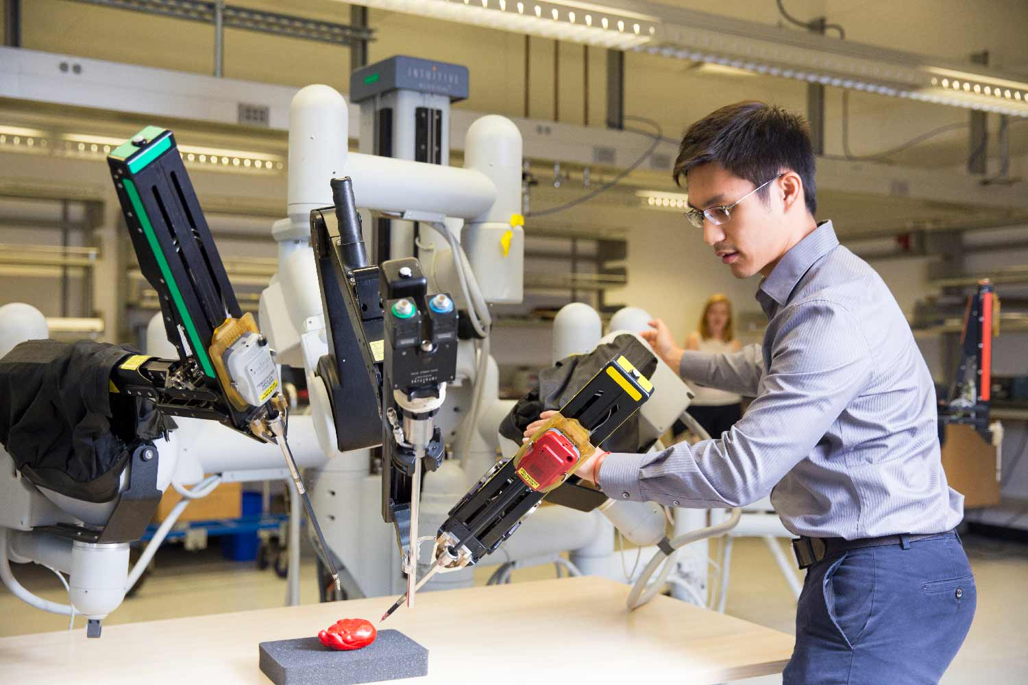 Engineers Developing Advanced Robotic Systems That Will