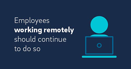 employees working remotely should continue to do so illustration.