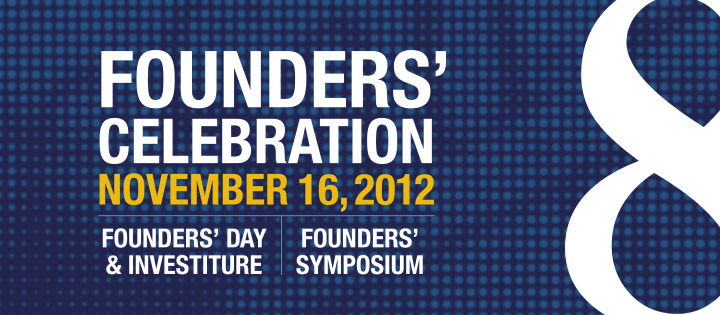 Foudners' Celebration, November 16, 2012