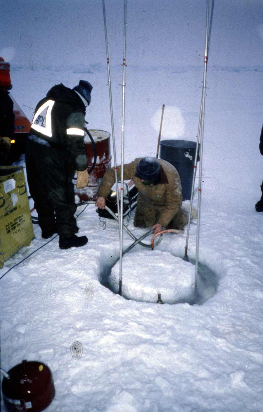 climate researches on snow