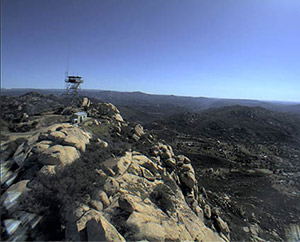Image: A network of mountaintop cameras operated by researchers at Scripps Institution of Oceanography