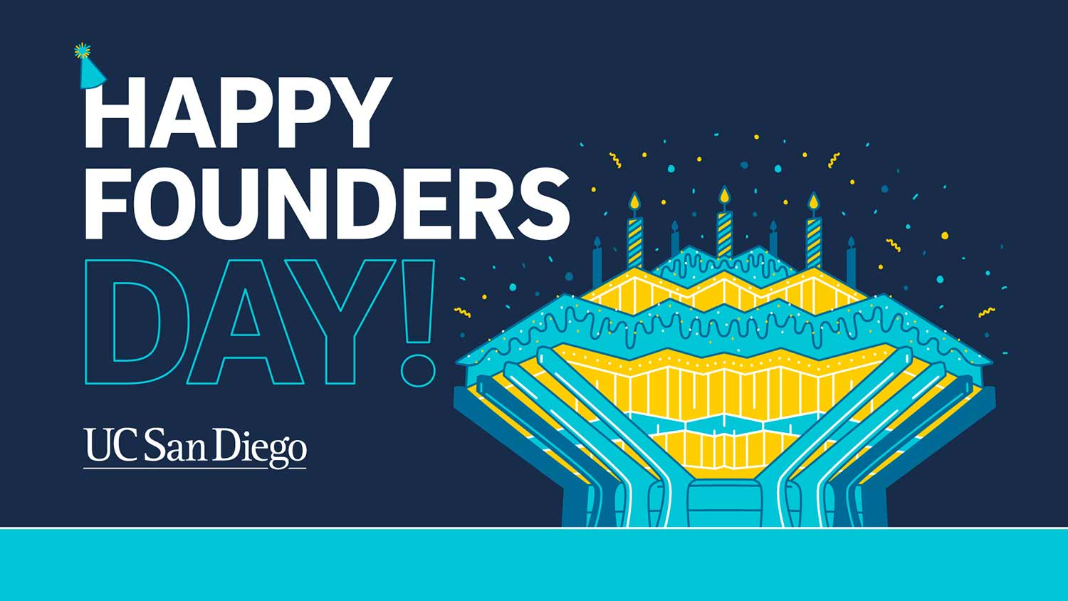 Happy Founders Day from UC San Diego