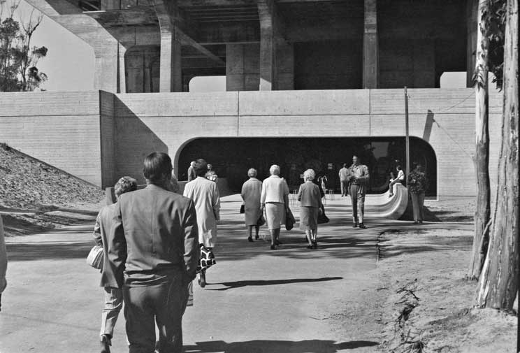 Geisel Library Open House 1971.