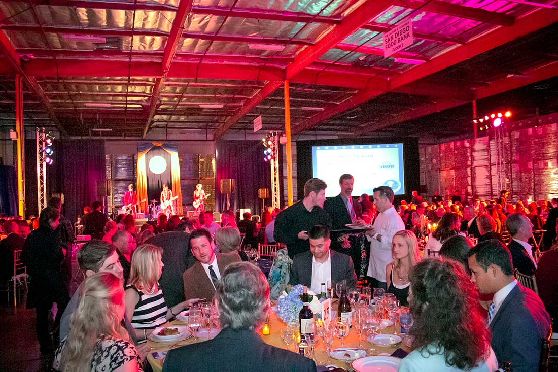 Photo: he annual Food Bank Gala benefits hunger-relief programs in the San Diego community