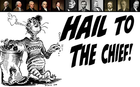 hail to the chief essay Democracy & government hail to our flounder in chief only half a year into the trump administration and the narcissism, prevarication and corruption have our democracy in crisis.