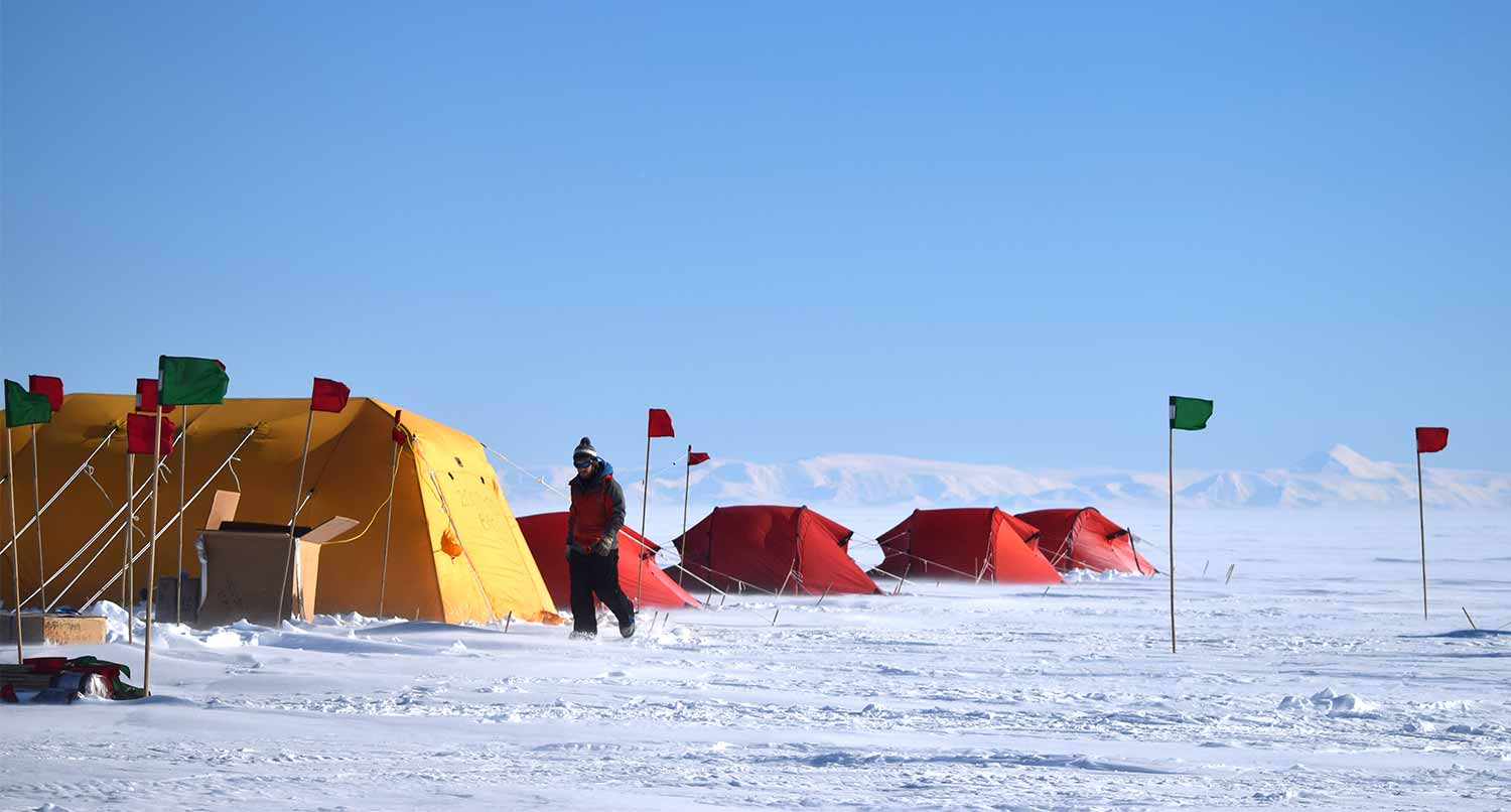 Image: Whillans Ice Stream field camp