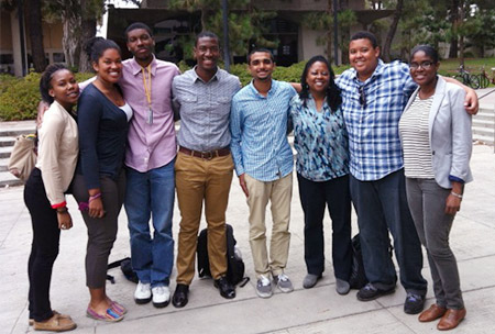 Eight undergraduates from Howard University