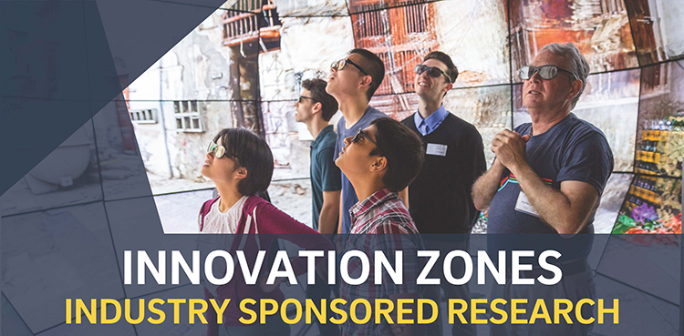 UC San Diego Innovation Zones, Industry sponsored research