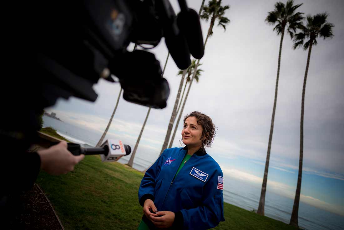 NASA Astronaut Jessica Meir Questions and Answers at UC San Diego
