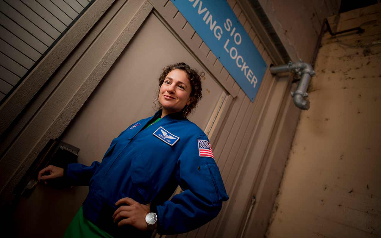 NASA Astronaut Jessica Meir Orbits Back to Scripps for Campus Visit