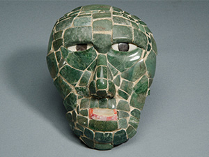 Photo: Maya Mosaic Mask