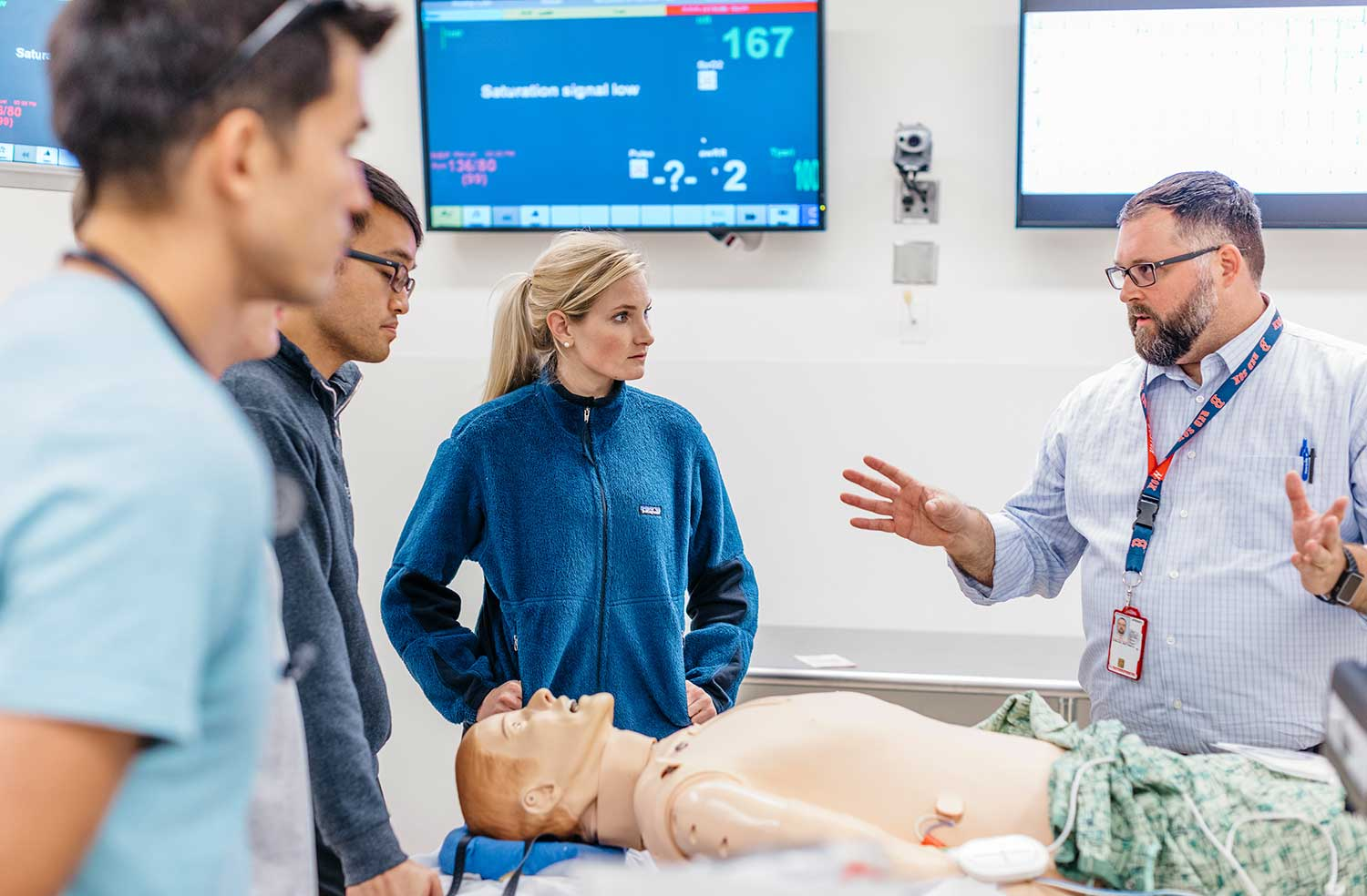 medical students in the Center for the Future of Patient Care.