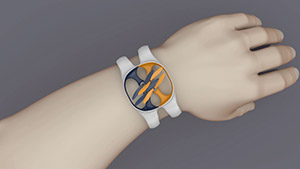 Nixie Wristband